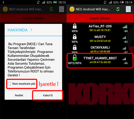 apk hacker wifi android
